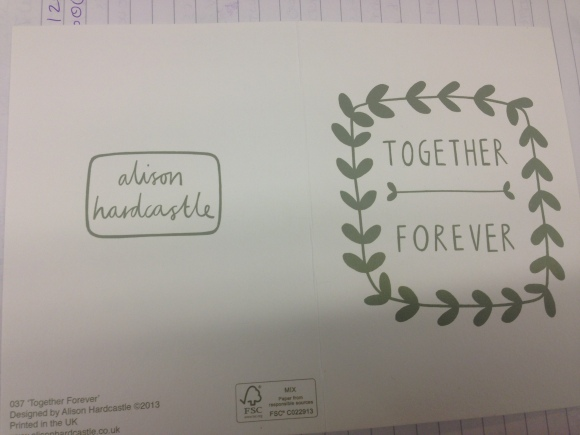 No more love letters in the mail.
