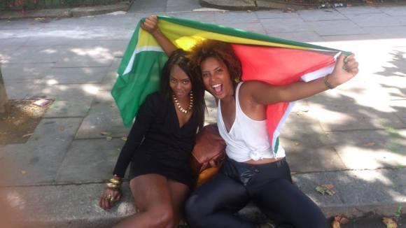Reppin' Guyana!